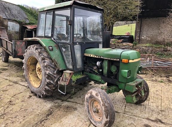 Dispersal Sale of 4 Classic Tractors, Farm Machinery & Livestock Equipment