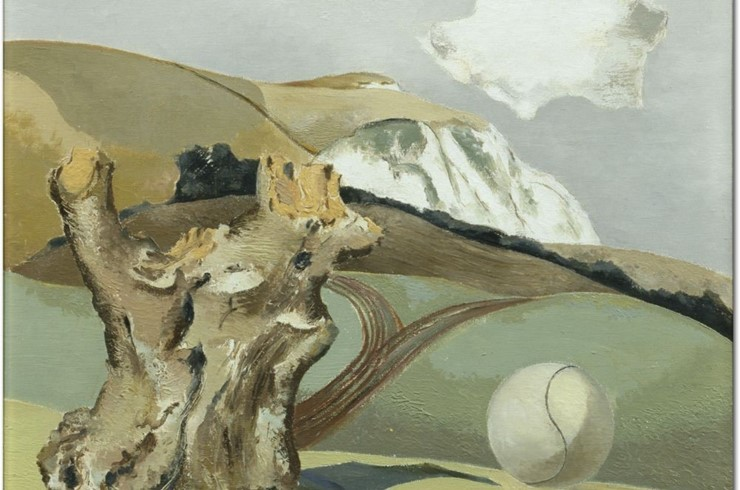 Surrealist Swanage : Paul Nash