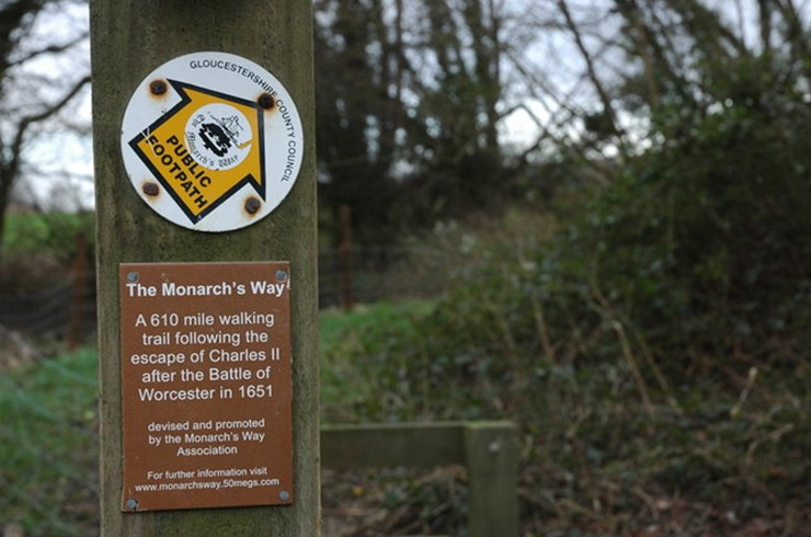 Symonds & Sampson sell part of the Monarch's Way