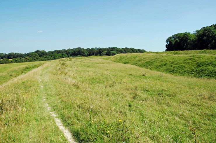 12 Walks of Christmas - Day 4 - Badbury Rings