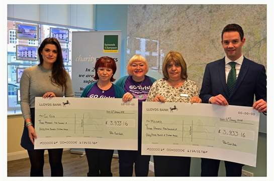 We Raise Nearly £8,000 for Two Local Charities