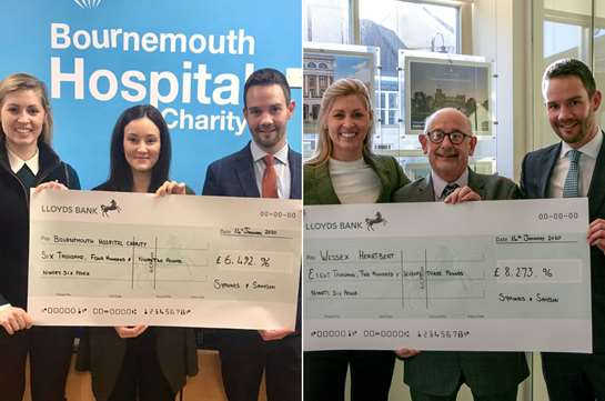 Symonds & Sampson smash 2019 Charity fund-raising target