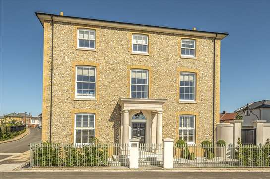 One of Poundbury's largest town houses is for sale!